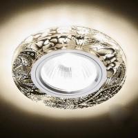 Точечный светильник со встроенной подсветкой