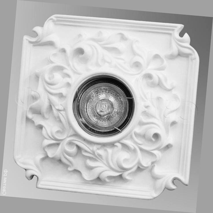 гипсовый светильник для подвесного потолка